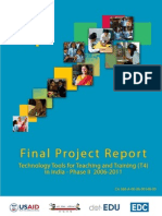 USAID T4 Final Project Report