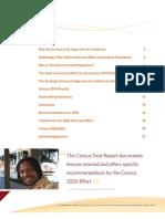 California Census Final Report