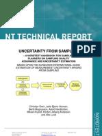 Guía para el aseguramiento de la calidad y la estimación de la incertidumbre del muestreo