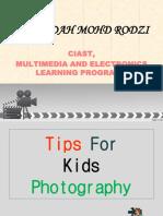 Photography Technique for a Little Photographer