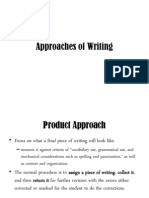 Writing Approaches