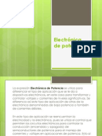 Electrónica de potencia INTRODUCCION