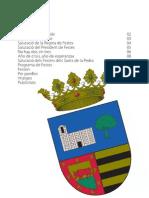 Programa de festers de Sants de la Pedra - la Pobla del Duc