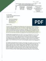 Hydrofracking Forum Documents from Josh Fox, Gasland - Chautauqua County Department Of Health Memo to DEC