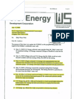 Hydrofracking Forum Documents from Josh Fox, Gasland - US Energy Letter to DEC