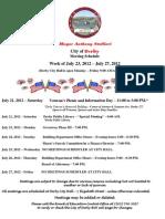 Week Starting July 23
