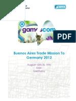 Misión Comercial a Alemania 2012. Presentación