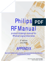 Philips Rf Manual 3rd Ed Appendix