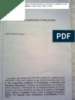 ENSAIO - Bakhtin - a invasao silenciosa e a má-leitura (FARACO 1988)