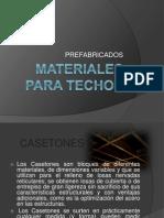 Materiales Para Techos 1