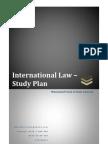 International Law - Study Plan