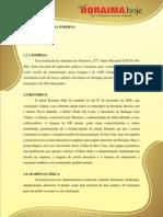 APRESENTAÇÃO Jornal Roraima  Hoje