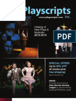 Playscripts, Inc. Catalog of New Plays & Musicals 2012 - 2012
