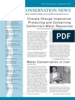 Spring - Summer 2007 California Water Conservation News