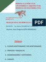 Informe de Hidraulica - Jose Soto r