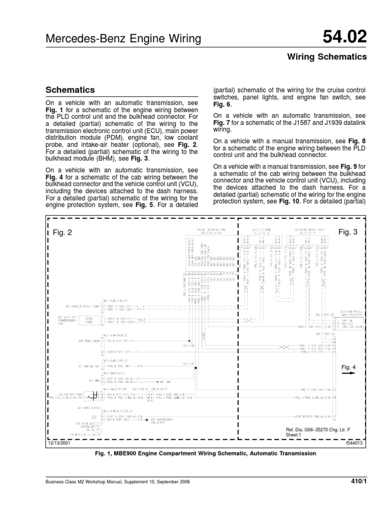 mercedez m2 electric diagram manual transmission automatic rh scribd com mbe 4000 ecu wiring diagram MBE 4000 Wiring Harness