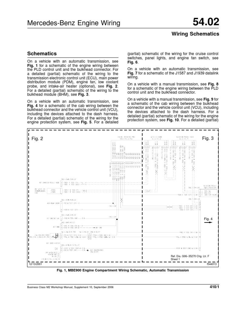 Mercedez m2 Electric Diagram | Manual Transmission