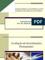 Avaliacao de Investimentos