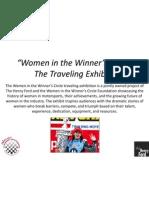 Women in the Winner's Circle