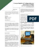 Diseño y posicionamiento en el puesto de trabajo