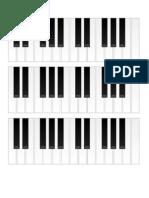 Acordes de Piano Invertidos y Normales