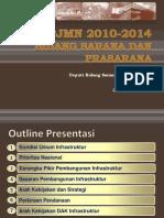 Rencana Pembangunan Jangka menengah Nasional (RPJMN) 2010-2014 Bidang Sarana dan Prasarana