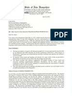 NH DHHS letter to CMS- June 22 2012