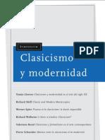 Clasicismoy modernidad