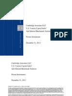 Venture Capital Index