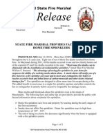 2012-07-12 Statewide Home Fire Sprinkler Facts