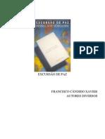 Chico Xavier - Livro 334 - Ano 1990 - Excrusão de Paz