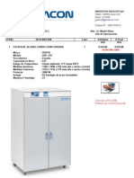 Estufa Daf-635 Conveccion Forzada-Inspectorate
