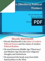 7. Modern Political Thinkers
