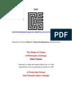 A Forma Das Coisas Uma Filosofia Sobre o Design