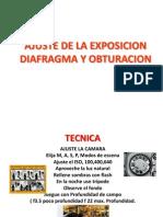 Cap.3 Ajuste de La Exposicion, Diafragma y Obturacion Nuevo