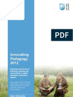 Innovating Pedagogy Report July 2012