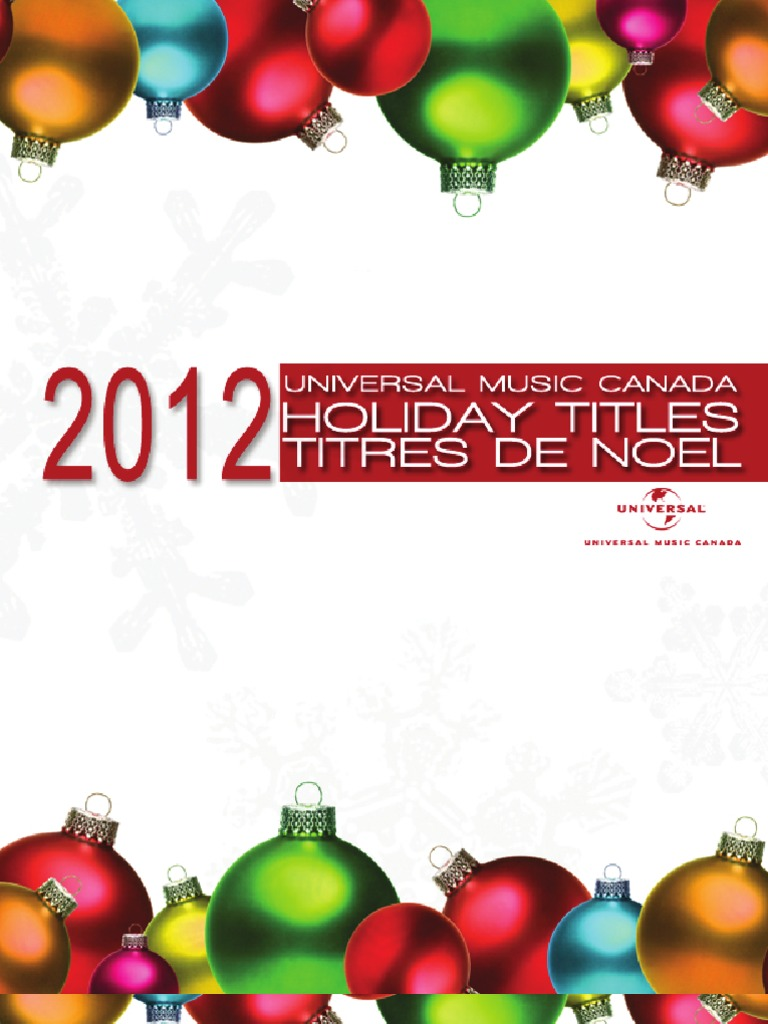 Christmas Presenter 2012 | Christmas Music | Hanukkah