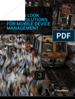What to Look for in Solutions for Mobile Device Management
