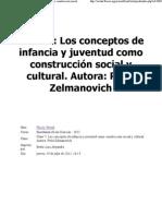 MODULO 2 Clase 7 - Los conceptos de infancia y juventud como construcción social y cultural - Perla Zelmanovich