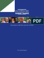 California Bar Foundation 2007 Annual Report