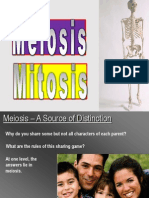Meiosis and Mitosis Difference