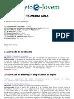 Lesson 01 (Guia Do Professor)