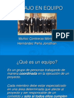 Trabajo en Equipo, Mónica Muñoz C, Jonathan Hernández P, 2007-1