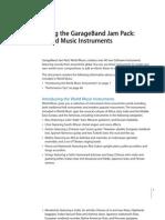 Garageband 3 World Music Instrument Tips