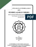 RPP Micro Teaching Mtk