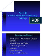 ASCE 41 - Seismic Rehabilitation of Existing Buildings