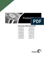 Seagate Barracuda 7200.9 SATA Product Manual