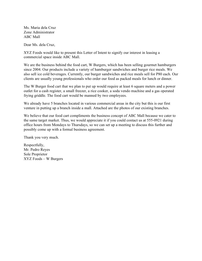 Letter 2 letter of intent for purchase of real property free letter of intent to sell business sample free company letterhead free letter of intent sample office spiritdancerdesigns Choice Image