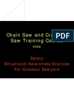 USDA - SA Exercise for Crosscut Sawyers
