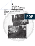 USDA - Chain and Crosscut Saw Student's Training Guidebook